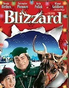 Blizzard (DVD, 2005) Christopher Plummer Whoopi Goldberg RARE MOVIE - REGION 4