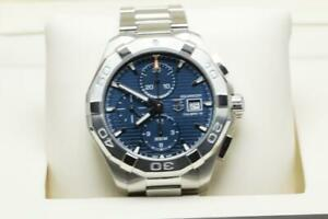 Tag Heuer Gents Aquaracer Wristwatch Ref CAY2112 45mm Boxed