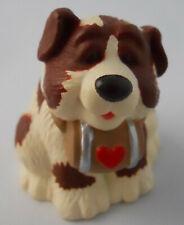 Hallmark Vintage Merry Miniature St Bernard Dog Sweetest Valentine 1994 Figurine
