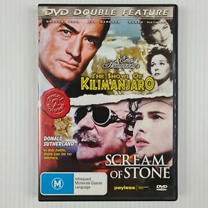 The Snows of Kilimanjaro / Scream of Stone DVD - All Regions - TRACKED POST