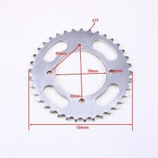 76mm Centre 37t Teeth 420 Rear Back Chain Sprocket Cog Pit Pro Trail Dirt Bike