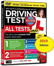 Driving Theory Test Success DVD & Hazard Perception.For MAC, PS3/4, XBOX ONE/360