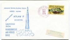 1970 Atlas F Booster Vandenberg Air Force Base Secret Payload SPACE NASA USA