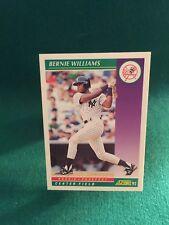 Bernie Williams 1992 Score ROOKIE PROSPECT #401
