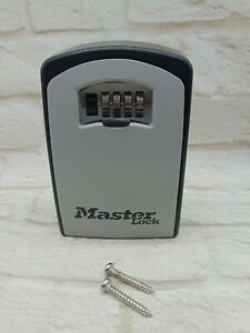 Master Lock Key Safe Extra Large Size  Unboxed Vgc Indoor Outdoor wall mountable