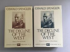 The Decline of the West Vol. 1 & 2 Oswald Spengler 1989 Knopf