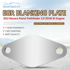 EGR Blanking Plate to suit Nissan Patrol / Navara D22 Direct Injection ZD30 3.0L