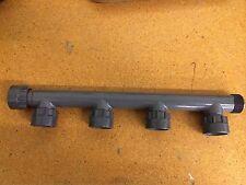 "Dura 301-010-4 1"" four port manifold fitting PVC for valves plumbing"