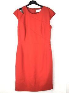 *BNWT* HUGO BOSS Danouk Fiery Red Dress UK 12 | FR 42 | DE 40 | IT 44 | MX 30