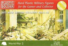 WW2020002 20MM 1944-45 - finales de la guerra de infantería británica Plastic Soldier Company Segunda Guerra Mundial