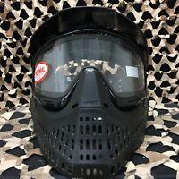 NEW JT Proflex Thermal Paintball Mask - BLACK/BLACK