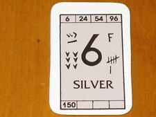 Advanced Civilization - AH - Game part - 1 Commodity Card Mint - Silver