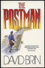 Fiction: THE POSTMAN by David Brin. 1992. Signed ARC