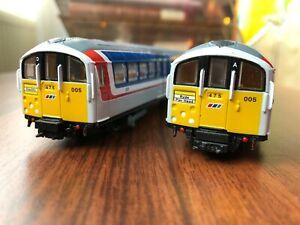 Isle Of Wight London Underground EFE 1938 train tube stock metro subway 1:87