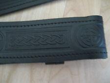Gürtel Belt Schottland Kilt keltisch mit Prägemotiv 30inch (71-84cm) NEU