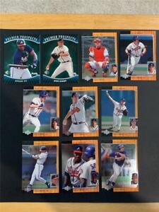 1996 Upper Deck SP Atlanta Braves Team Set 10 Cards