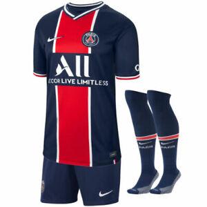 20/21 Paris Saint-Germain MBAPPE 7/NEYMAR JR 10 Kids Mens Custom Shirts Home Kit