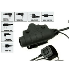 Radio Cable Parts U94 New Version Headset Cable & PTT (Adapter optional)