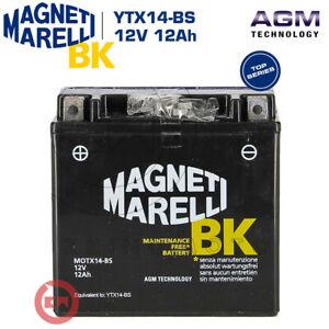 BATTERIA MAGNETI MARELLI YTX14-BS 12V 12Ah HONDA XRV AFRICA TWIN 750 1999 2000