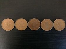 5 x 1971 Rare Collectable 2p 2 New Pence Coins - Queen Elizabeth - coin hunt
