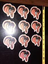 Lot of 10 Baltimore Orioles Team Logo VINYL Stickers