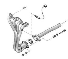 Fächerkrümmer VW Polo 1,0l 1,3l 1,4l 1,6l Mod.94-98