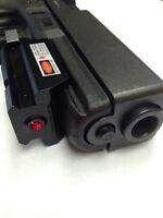 Red Laser Sight Scope for PISTOL Glock 17 19 20 21 22 23 30 31 32 Weaver Gun