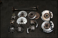 OE MUSTANG 5 LUG FRONT & REAR DISC BRAKE CONVERSION KIT for 79 - 89 90 91 92 93