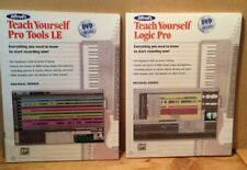 Teach Yourself - Pro Tools Le, Logic Pro both w Dvds; Alfred Music, 2010; Nr Mt