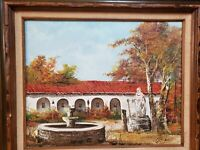 JOSE MORALES (Spain, 20th century) vintage oil painting SIGNED