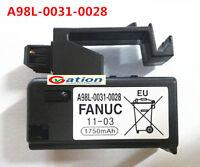 for NEW FANUC A98L-0031-0028 A02B-0323-K102 1750mAH PLC battery