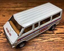 Vintage Played with ERTL Dodge Passenger Shuttle Van Ramada INN Motel Hotel