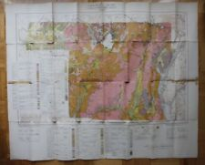 Geologic Map BROME COUNTY Quebec 1946 Canada ST1002001018