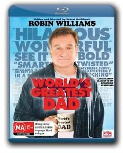 World's Greatest Dad (Blu-ray, 2010)--free postage