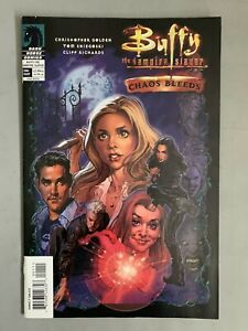 BUFFY THE VAMPIRE SLAYER CHAOS BLEEDS (2003) J SCOTT CAMPBELL COVER
