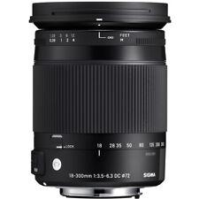 Sigma 18-300mm F3.5-6.3 DC Macro OS HSM 'C' Lens - Nikon Fit