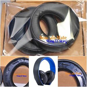 Ear Pad Cushion For Sony Blue SONY Gold Wireless Stereo Headset PS3 PS4 7.1 L R