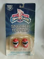 Mighty Morphin Power Rangers Sneaker Toppers Pink Toy 1994 RARE & NIB Unopened