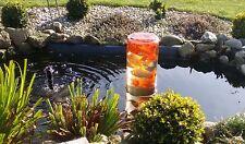 Fischglas Teichglas Fischsäule Fischturm Goldfischglas Gartenteich )