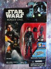 Star Wars ROGUE ONE Figure JYN ERSO w/ helmet WAVE 3 HASBRO 3.75 Disney