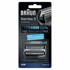 Braun Series 3 Electric Shaver Replacement Foil Cartridge, 32B - Black