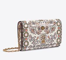 Tory Burch Hicks Garden Party Chain Wallet Crossbody Bag