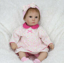 "Kaydora 17"" handmade Reborn Baby Girl Doll Lifelike Vinyl"