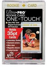 (10) Ultra Pro 35pt Rookie One-Touch Magnetic Card Holders - UV - BRAND NEW