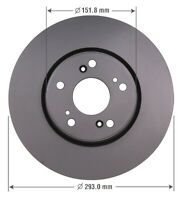 Disc Brake Rotor-EX Front OMNIPARTS 13060520