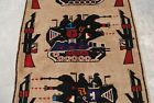 BEAUTIFUL AFGHAN HAND MADE CLASSIC RUG HAND KNOTTED WAR AGAINST TERRORISM