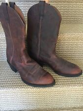Ariat Mens Distressed Leather Sedona Brown Cowboy Western Boot 11  #34624 NEW