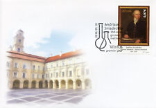 Lithuania 2018 FDC Andrius Sniadeckis 1v Set Cover Art Chemistry Science Stamps