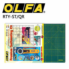 OLFA RTY-ST/QR Quiltmaking Kit Rotary Cutter & Cutting Mat & Ruler Set JAPAN_V