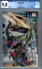 Champions #5  Sara Pichelli Variant  Kamala Khan  Man-Thing 1st Print  CGC 9.8